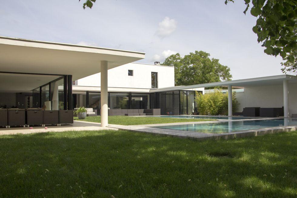 Maison cl3 r habilitation d 39 une maison de luxe dommartin architecte - Architecte maison de luxe ...