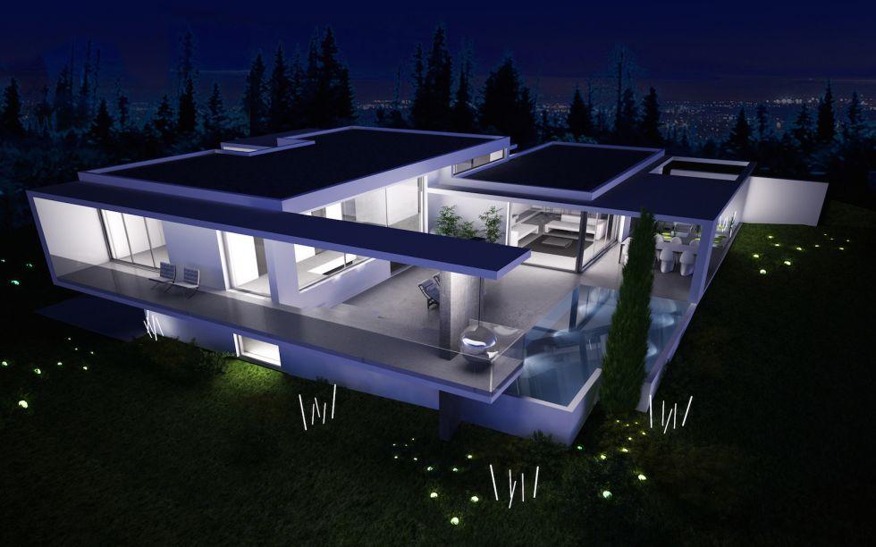 Architecture maison haut standing for Plan maison haut de gamme