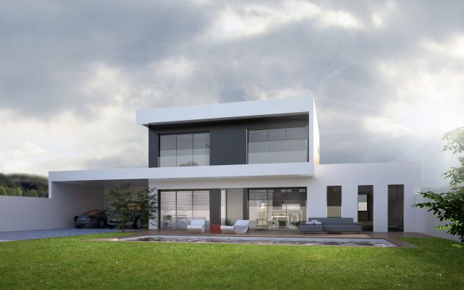 Architecte pour construction maison et villa moderne lyon for Architecture des villas modernes